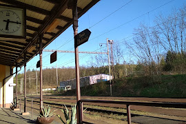 Железнодорожная станция  Hluboka Nad Vltavou