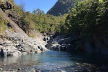 Cascadas de Rio Turbio, Pucon, Chile