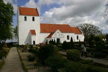 Landet Kirke og kirkegaard, Svendborg, Denmark