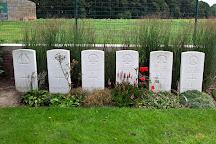 Lindenhoek Chalet Military Cemetery, Heuvelland, Belgium