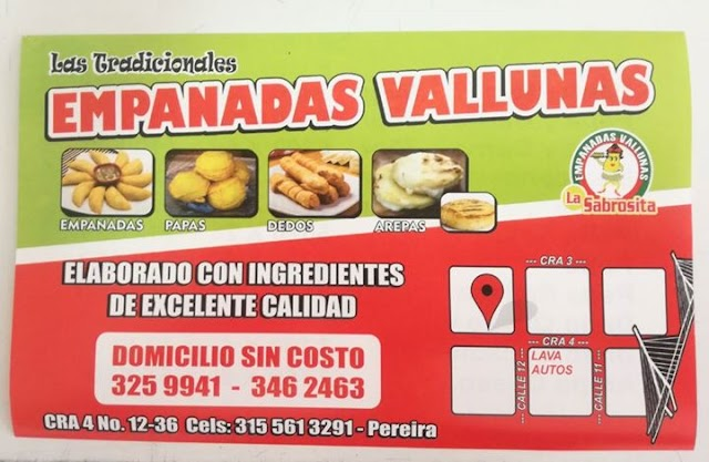 Empanadas Vallunas La Sabrosita