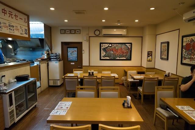 Prawns restaurant Tamaya