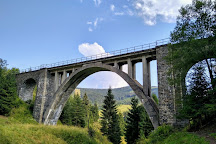Chmarossky viadukt, Telgart, Slovakia
