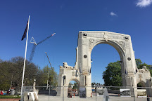 Bridge of Remembrance, Christchurch, New Zealand