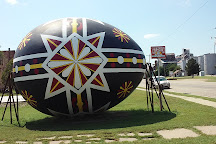 World's Largest Czech Egg, Wilson, United States