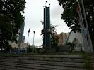 Памятник героям Нарвской Заставы, Ленинский проспект на фото Санкт-Петербурга