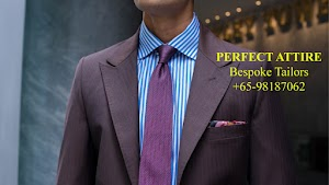 Perfect Attire - Bespoke Tailored Suits and Shirts Singapore