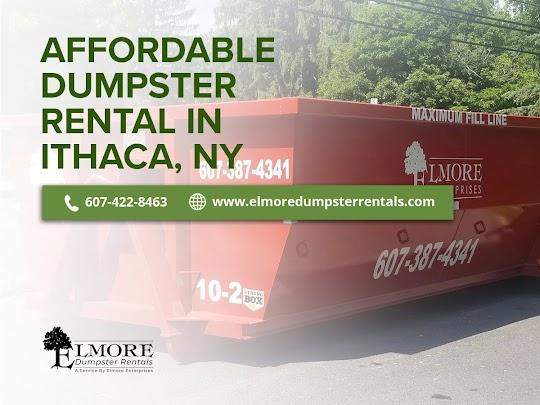 Dumpster Rental Ithaca, NY - Elmore Dumpster Rentals