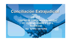 Centro de Conciliación Manrique Moq - Cecans Ilo 0