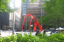 Calder's Flamingo, Chicago, United States