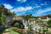 Puente Natural Sobre El Rio Nela, Puentedey, Spain