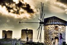 Windmills, Bodrum City, Turkey