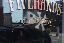 Fivehands Curiosity Shoppe, Salem, United States