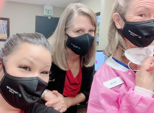 Aspen Springs Dental Team with Masks