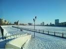 Администрация Советского района, улица Набережная Приволжского Затона на фото Астрахани