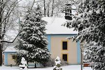 MEstsky park, Cesky Krumlov, Czech Republic