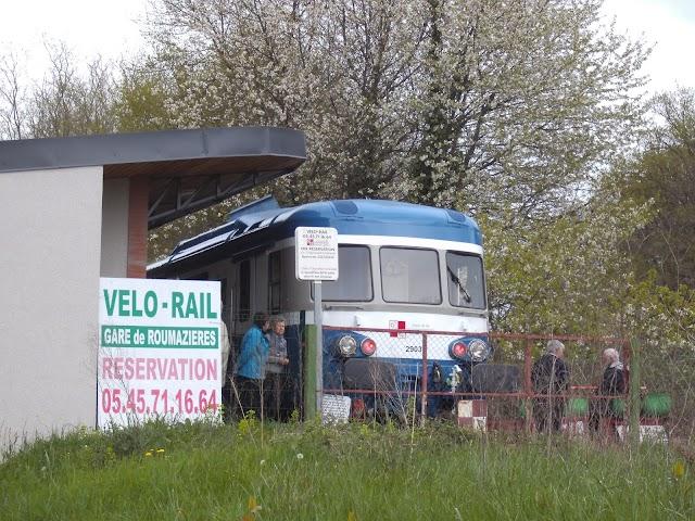 Gare de Roumazières - Vélorail et Train de Charente-Limousine