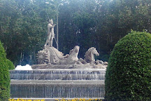 Fuente de Neptuno, Madrid, Spain