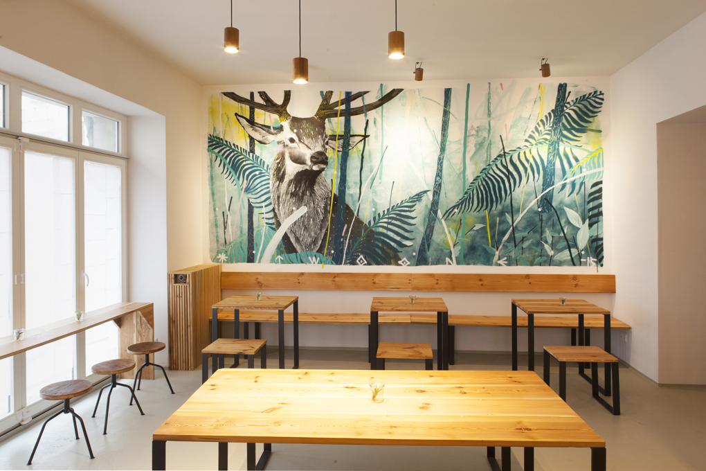 HOLY FLAT!: A Work-Friendly Place in Berlin