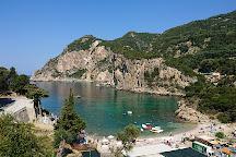 Agios Petros Beach, Paleokastritsa, Greece