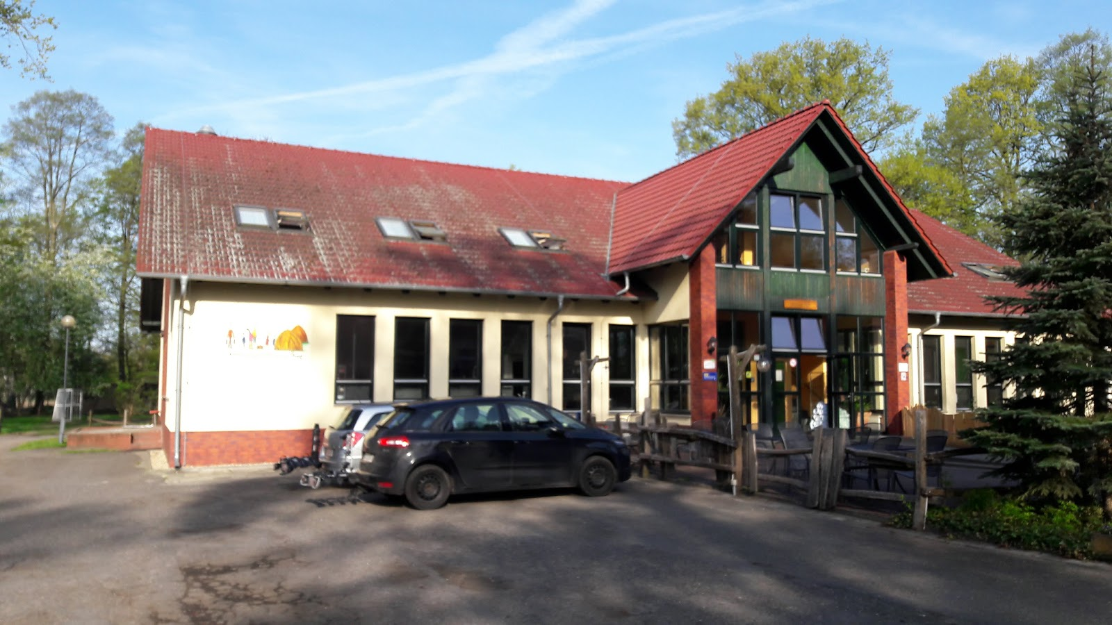 DJH Youth Hostel Burg (Spreewald) with campground Karte - Cottbus ...