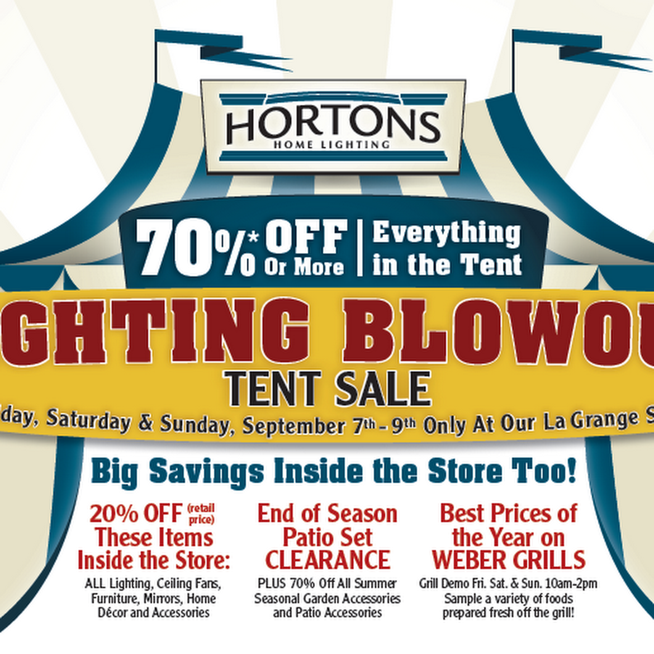 hortons home lighting outlet