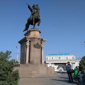 Железнодорожная станция  Almaty 2