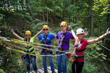 Shawnee Bluffs Canopy Tour, Makanda, United States