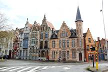 Ezelpoort (Donkey's gate), Bruges, Belgium
