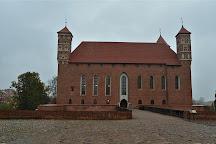 Lidzbark Bishops' Castle (Zamek Biskupow Warminskich), Lidzbark Warminski, Poland