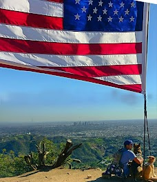 Hollywood Sign Flag Los Angeles