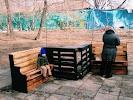 Сквер Деда Матвея, улица Тургенева, дом 84 на фото Хабаровска