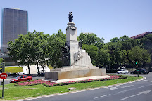 Monument Glorieta de Emilio Castelar, Madrid, Spain