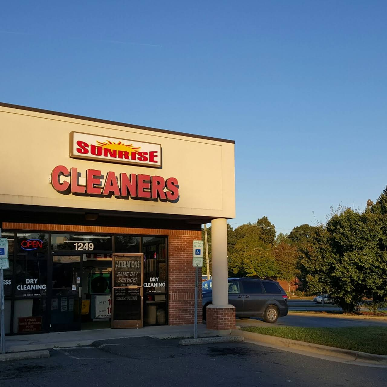 Sunrise Cleaners Dry Cleaner In Winston Salem