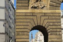 Porte Saint Martin, Paris, France