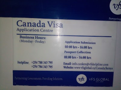 Canada Visa Application Centre Nairobi 254 788 343795