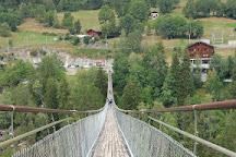 Hangebrucke Furgangen-Muhlebach, Ernen, Switzerland