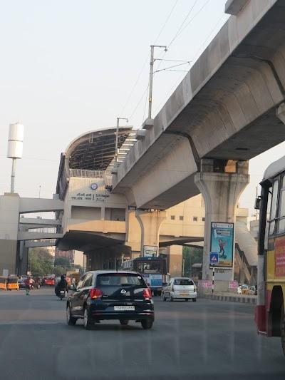 S R Nagar Metro Station