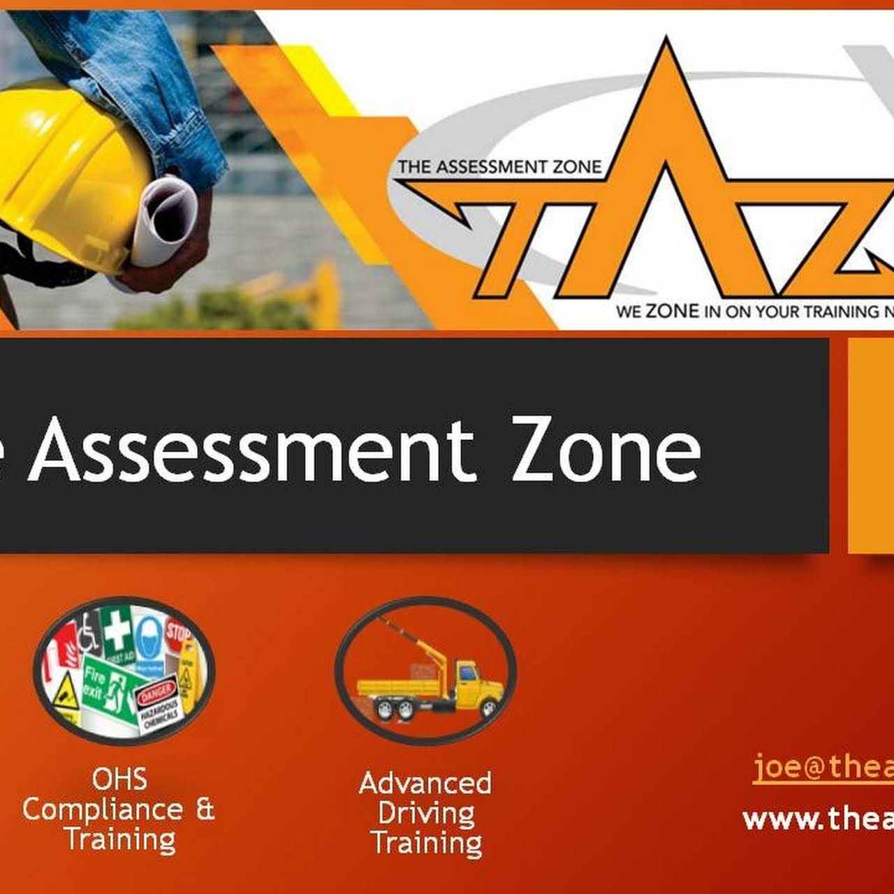 The Assessment Zone The assessment zone is an accredited training provider , consultants and equipment provider in the fields of ohs , lifting equipment and soft skills www.theassessmentzone.co.za. the assessment zone