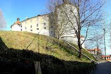 The Three Castles Path, Škofja Loka, Slovenia