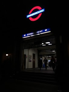Embankment Station london