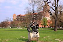 Dzok Monument, Krakow, Poland