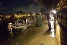 Pont de l'Archeveche, Paris, France