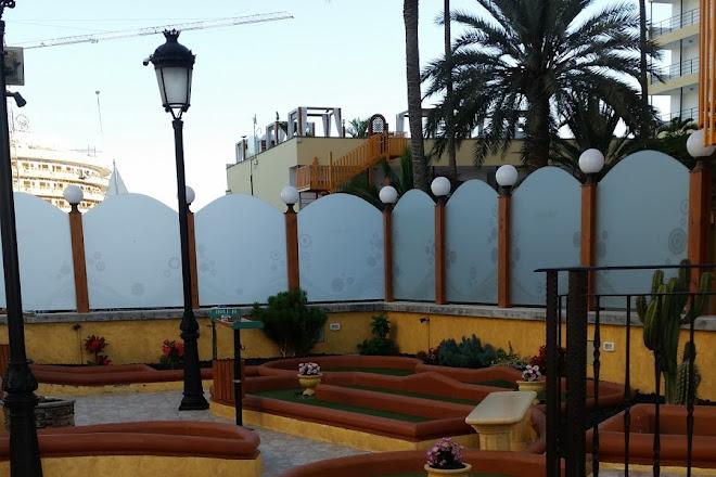 Minigolf Atlantico, Playa del Ingles, Spain