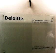 Deloitte Yousuf Adil karachi