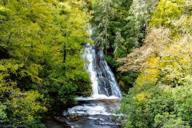 Connestee Falls Overlook