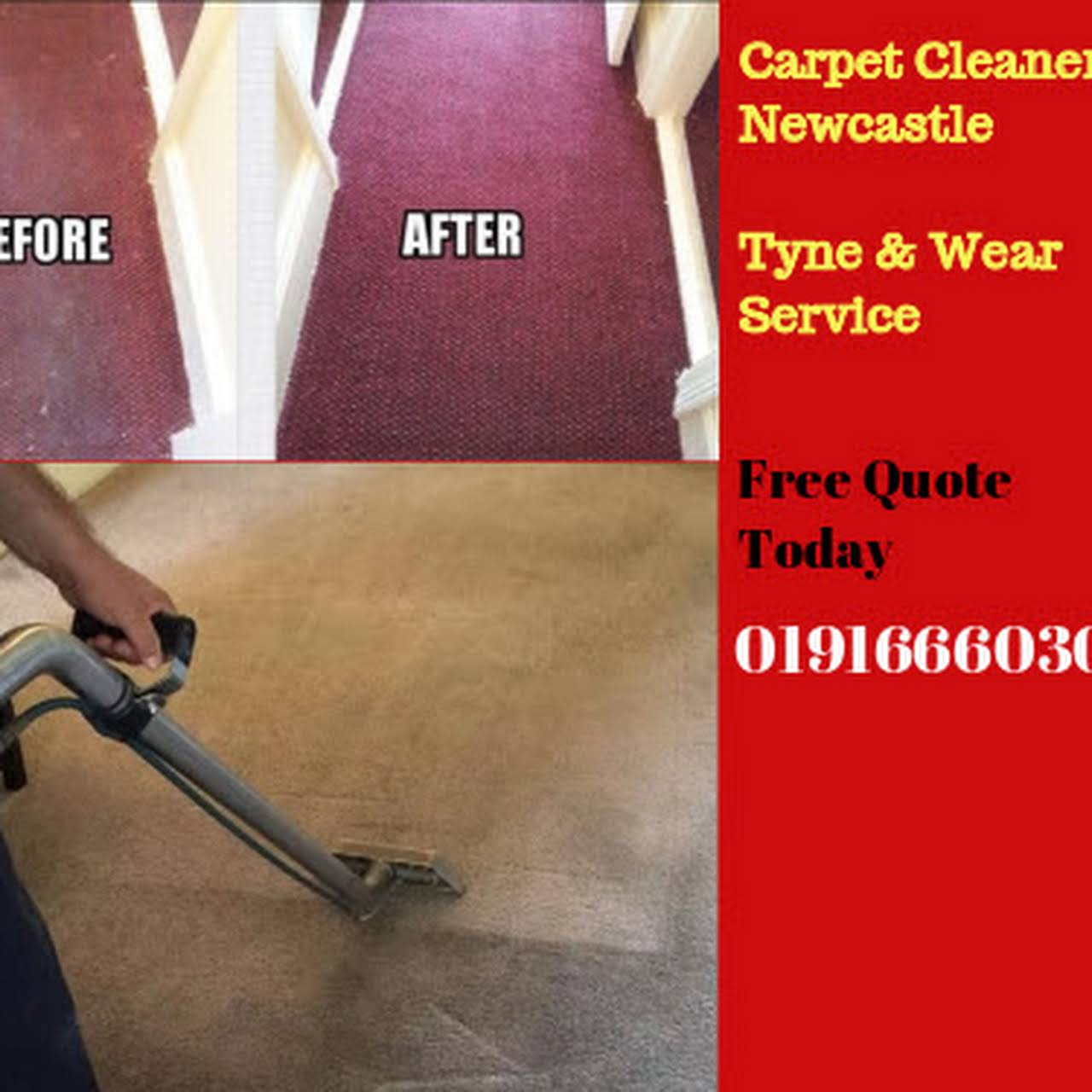 Carpet Cleaning Service Newcastle Upon