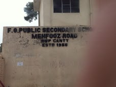 F.G. Public Secondary School rawalpindi