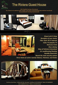 The Riviera Guest House islamabad