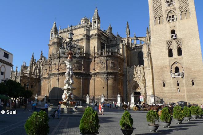 Plaza del Triunfo, Seville, Spain